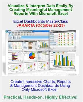 Excel Dashboards MasterClass OCT 22-23, 2018