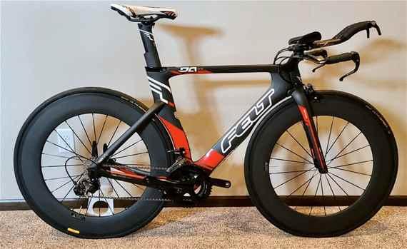 FELT DA1 TTTriathlon Bike Carbon Wheelset Ultegra Size 51 small